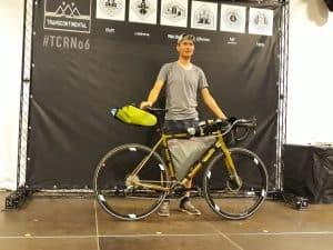 Koga colmaro aan de start van de transcontinental race
